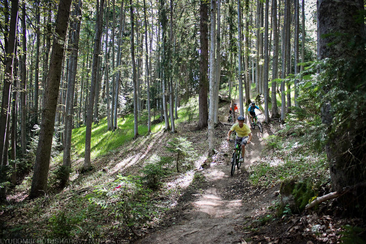 The Family Trail is more suitable for beginners. (photo: MTB-BG)
