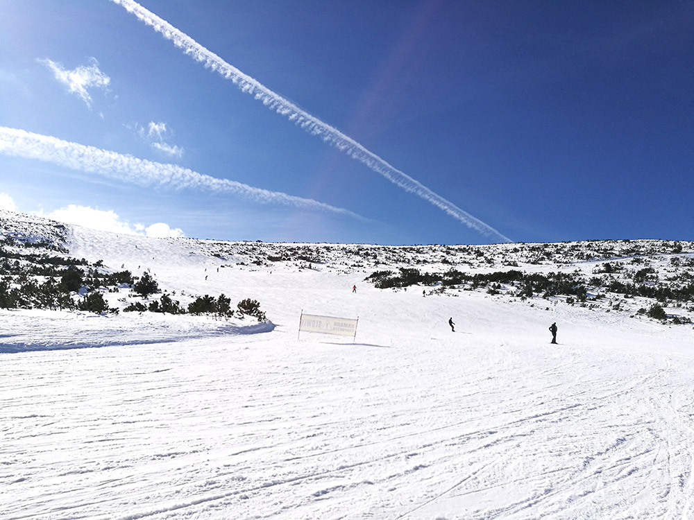 The Markudjik 1 ski run.