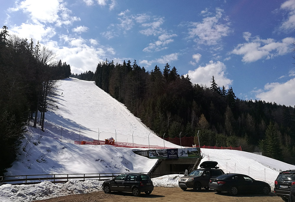 The Popangelov ski run.