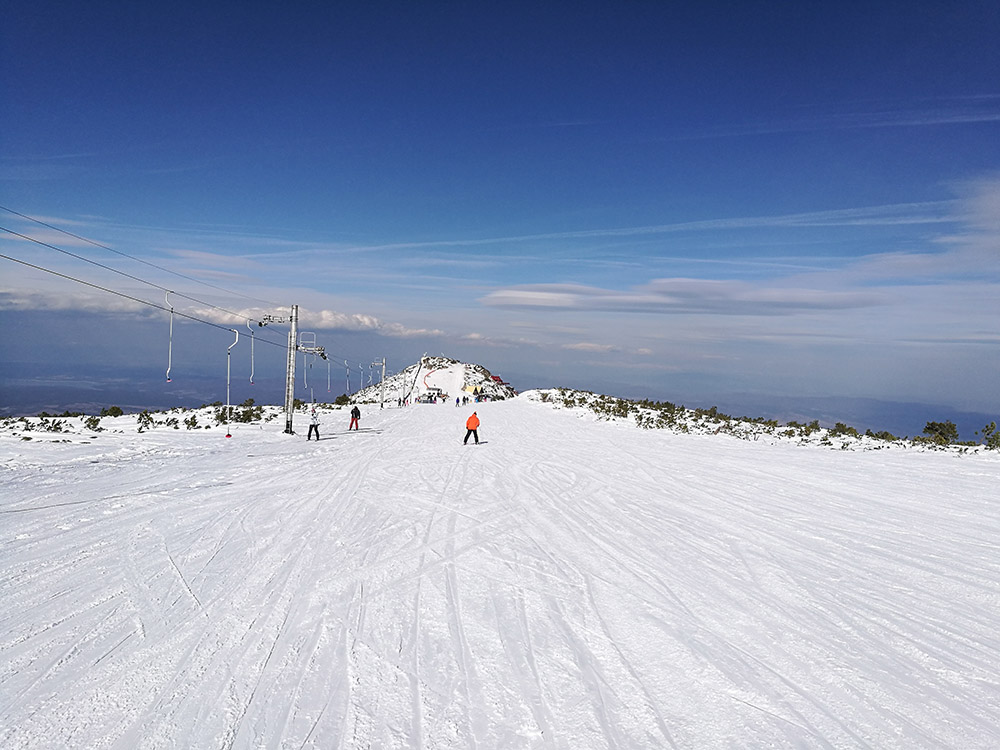 The Suhar ski run is perfect for beginners