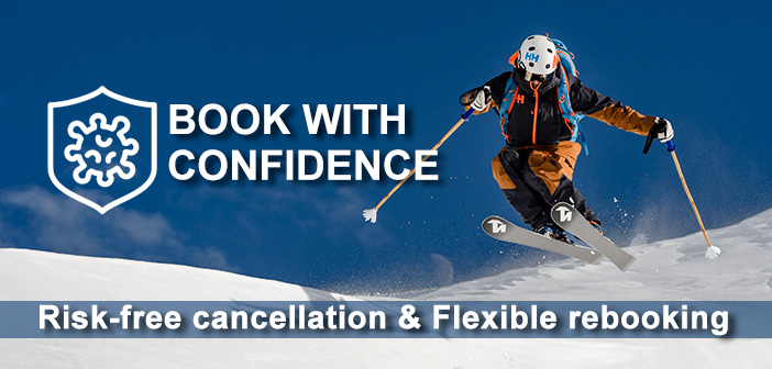 book ski packages with confidence