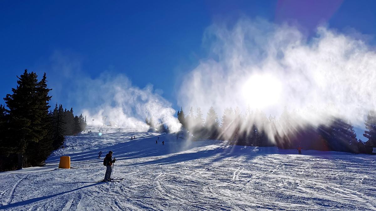 borovets snow report 02/01. 2021