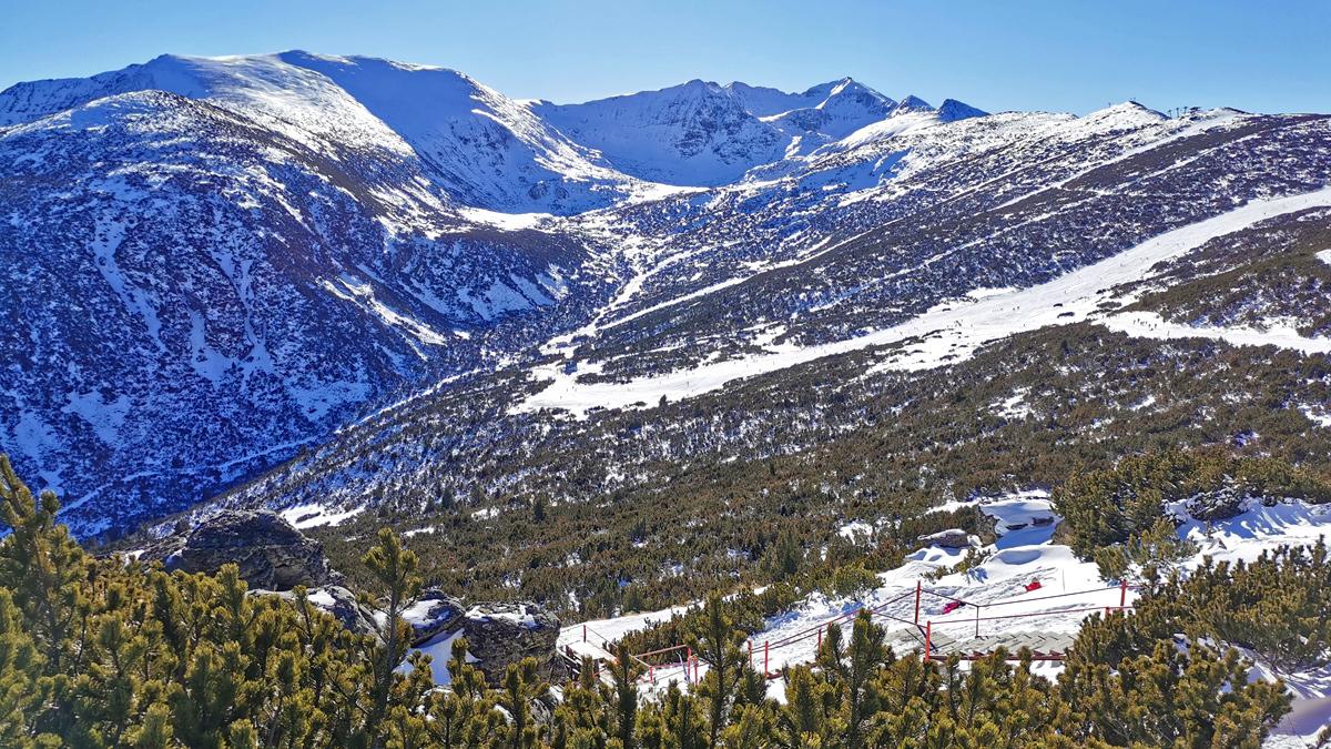 borovets snow report 02/02, 2021